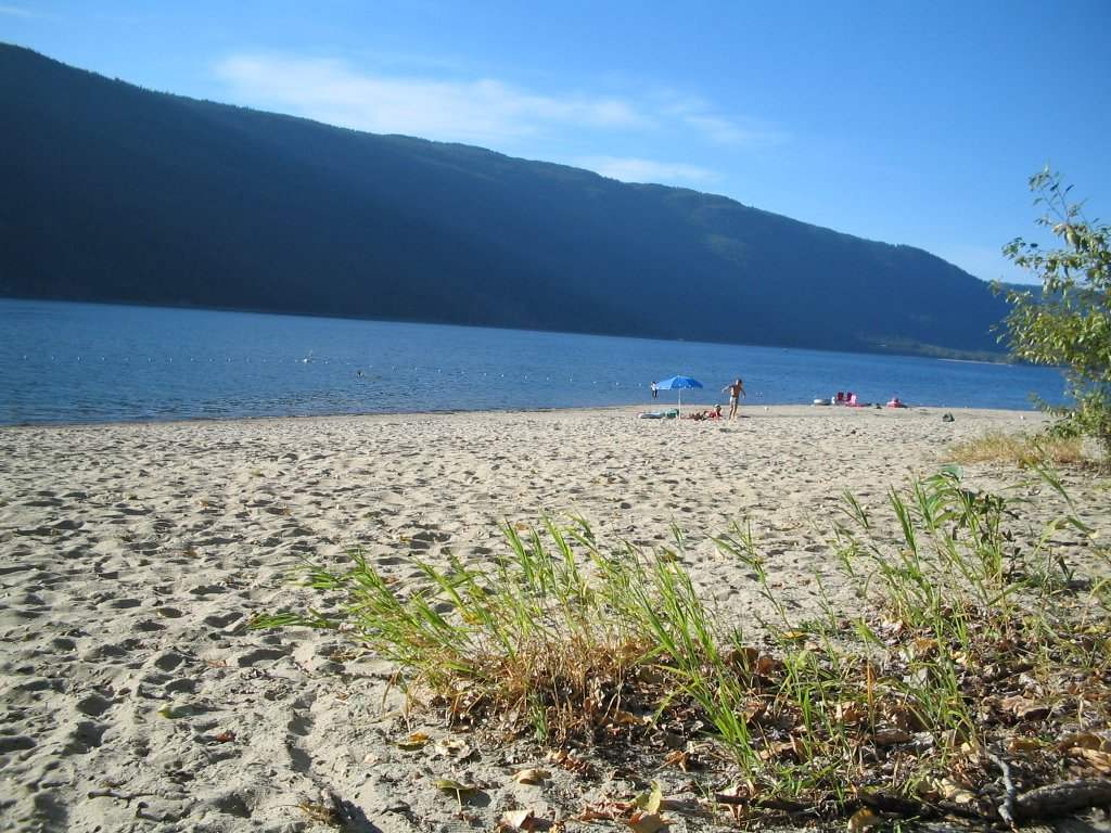 Mara Lake - Best Beaches Near Enderby BC