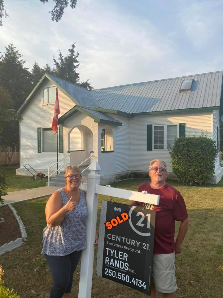 Another happy client in Enderby BC