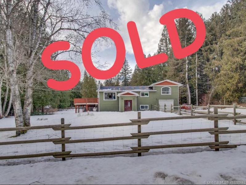 House Sold in Enderby (Tyler Rands Realty)