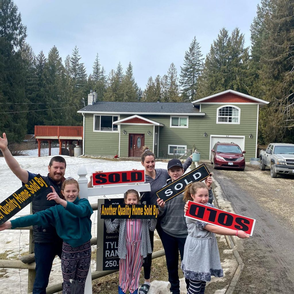 House in Enderby SOLD by Realtor Tyler Rands (Century 21)