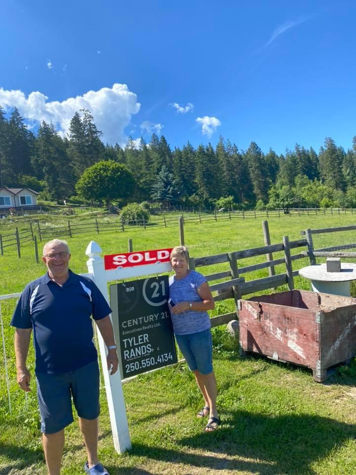Acreage Sold in North Okanagan - Tyler Rands - Enderby BC Realtor