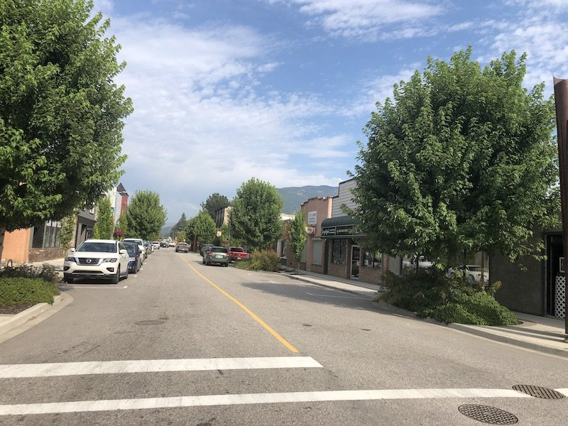 Enderby BC - Downtown Street