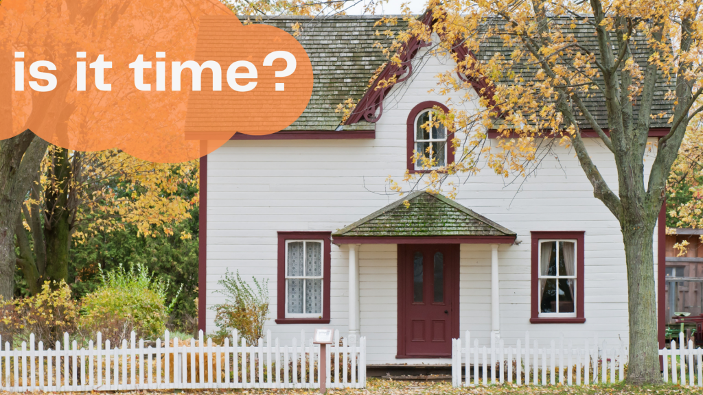 is it time to buy a house?